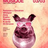 K.Andy & drGroove -True Story of Housemusique  3.03.12 -Live!
