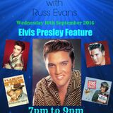 Back to the 60's & 70's with Russ Evans - Elvis Presley Tribute 10th Sept 2014