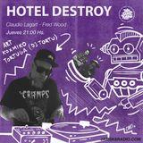DJ TORTU EN HOTEL DESTROY 6 11 18