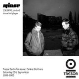 Zenker Brothers @ Tresor Berlin Takeover - Rinse FM London - 23.09.2017