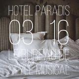 HOTEL PARADIS # 0316