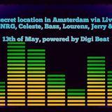 DJ Bass live at Celeste's Steam Stream Party, A'dam - 13-05-2017