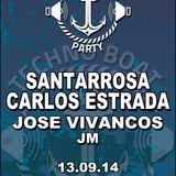 Santarrosa @ Techno Boat 13/09/2014 (Techno Set)