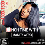 #TheLunchtimeShow with @MandyWoyo     20.08.2018    1-4pm