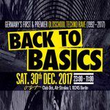 DJ HANOBEN - B2B MDMA MIX (EXCLUSIVE LIVE MIX FOR 'BACK TO BASICS' 25-YEARS-ANNIVERSARY 30-12-2017)