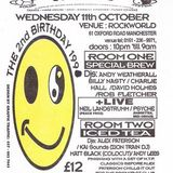 "Neil Landstrumm LIVE at ""2 Year Anniversary"" @ Herbal Tea Party (Manchester - UK) - 11 October 1995"