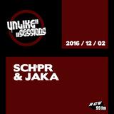 Unlike Sessions - 2016 dec 02 - Sch'pr / Jaka