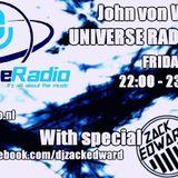 John von Wh1te - Universe Radio 42 Incl. Zack Edward Guestmix
