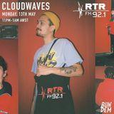 Bun Dem - Cloudwaves on RTR.FM - 13th May 2019