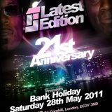 Latest Edition Anniversary CD ft Various Artists - RnB/Soul