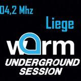 WARM UNDERGROUND SESSION / MATT SUGAR R / DJ SET / WARM 102.4 MHZ LIEGE/ 11 JUIN 2019