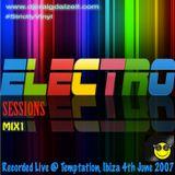 Craig Dalzell Live @ Temptation, Ibiza 4th June 2007 (Electro Sessions Mix1)