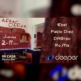 2017.11.02-Ro.Ma-After Office Pre Deeper@Mi Casa Resto Bar-Trelew