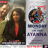 #NITM MON 8/20 - AYANNA PRESSLEY US REPRESENTATIVE MA DISTRICT 7 CANDIDATE INTERVIEW