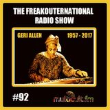 The FreakOuternational Radio Show #92 04/08/2017