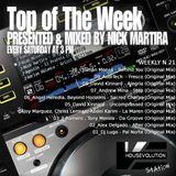 Top of The Week 021 (Radio Program)