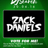 ZACK DANIELS - Nectar Nightclub's DEEJAY SEARCH