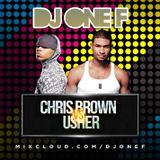 @DJOneF Chris Brown VS Usher | SNAPCHAT ADD 'DJONEF'