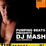 Dj Mash Live @ Pumping Beats on Radio Hits 88.2 (11-11-2014)