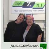 Excerpts of Interview / Show with Jamie McPherson 8 Dec 2016 on The Local - SA