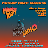 Midnight Riot Radio - special guest Qwestlife and Yam Who?  14/05/2017
