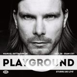 Marcel Dettmann @ Studio Brussel – Playground 27-10-2014