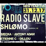 Antony Adam | New Year Eve | Ostra Club Nancy | 31 Décembre 2017