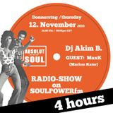 Absolut Soul Show /// 12.11.2015 on SOULPOWERfm