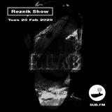 Reznik Show - Sub.FM - MLab Guest Mix