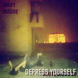 Depress yourself.