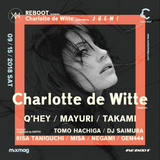 Q'hey Live Mix at REBOOT presents Charlotte de Witte Suppoted by Juemi, Contact Tokyo, Sep 2018