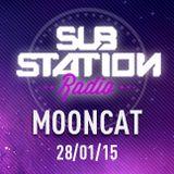 ● MOONCAT ● Set + entrevista en Substation Radio On Line ● ENERO 2015