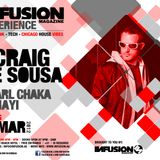 LIVE - Craig De Sousa @ Infusion Magazine Experienct - 360, Thu 8th March '12