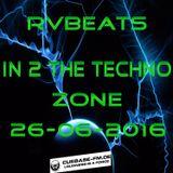 RvBeats In 2 The Techno Zone CuebaseFM Sunday 26-06-2016