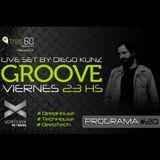 Groove #20 @ Vorterix Bahía (emitido el 26-05-17)