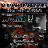 Mission Techno C.R. presents DJ Wank