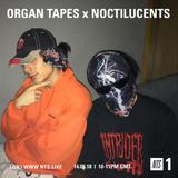 Organ Tapes w/ Noctilucents - 14th May 2018