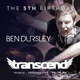 Ben Dursley - The Transcend Podcast 026 (Live from Transcend's Fifth Birthday)