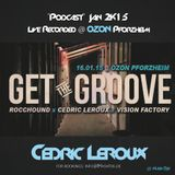 Cedric Leroux - Get the Groove @ Ozon Pforzheim - Jan2k15 #Hashtek