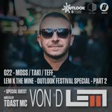 The Low End Music show on Bassport.fm - The Mine x Outlook Festival Special - VON D