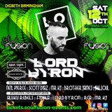 Lord Byron LIVE @ Soul Fusion Birmingham AFRO HOUSE / BROKEN BEAT Arena 12/10/19