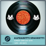Alphabetti Spaghetti Radio show 22nd July 2018 - Brought to you by the Letter ..E !