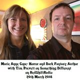 Marie Anne Cope - Horror and Dark Fantasy author with Tim Prevett on Something Different 20/03/18