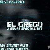 El Grego 2 hours techno and dark techno set