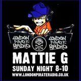 Mattie G's Sunday night House Fix - Live on London Pirate Radio - Enjoy and share the love