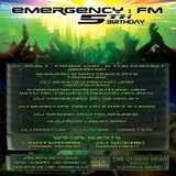 #121 Emergency FM - Jan 5th 2016 (cover for Sinister)