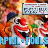 Portobello Radio Ep 51, April Fools with Piers Thompson, Chris Sullivan & Greg Weir: The Tri-factor