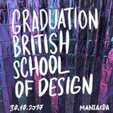 Graduation British school of design 30.10.17