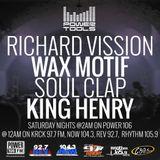 Powertools Mixshow - Episode 11-19-16 Ft: Wax Motif, Soul Clap, & King Henry