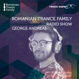 Romanian Trance Family Radio Show 054 - GEORGE ANDREAS Guest Mix
